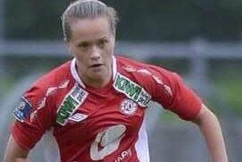 Hektisk tilværelse: Som student og som fotballspiller på toppnivå har Ingrid Altermark ingen store fritidsproblemer. Neste sesong spiller hun for Sandviken. Foto: Tore Thorsen