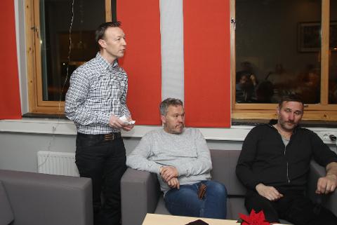Ståle Krokstrand takket for tilliten som styreleder i interimstyret til den nye klubben.