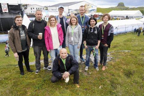 Que: Skabandet fra Nesna, QueDuhSka, spilte på Trænafestivalen før helgen og i august står Sjyen på Nesna for tur.Foto: Lisa Ditlefsen