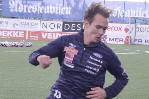 Joachim Olufsen har tatt store steg som fotballspiller på kort tid, og spilt sju kamper i Eliteserien.