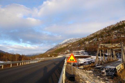 Helgeland nord, nye Messingslett bro.