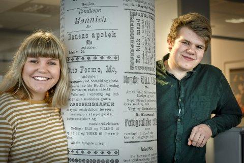 Gleder seg: Magnhild Flått Bakkerud og Markus Evensen sier det er en helt spesiell stemning på veldedighetskonserten i forkant av NM. Foto: Øyvind Bratt
