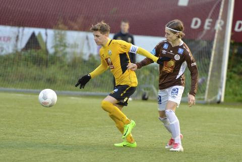 Iben Kirkhus Berntzen  scoret tre mål mot Nesna. Her fra en annen kamp. Foto: Trond Isaksen