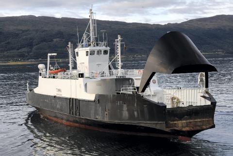 MF Tomma er fra 1974 og en av de eldste fergene som er i drift i Norge. På nyåret kan man betale fergebilletten med AutoPASS flere steder i landet.