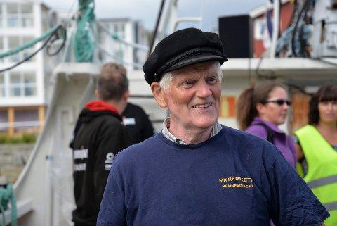 Thorbjørn Skjæran: En av flere ildsjeler som er i gang med å lage en bokserie om båt-bygging i Ranfjorden.