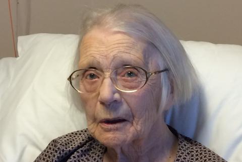 Marie Antoinette Andersen blir 109 år lørdag og er Norges eldste person.