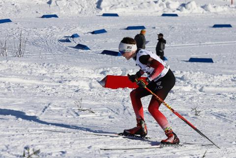 Kasper Ågheim Kalkenberg fikk fire strafferunder etter første skyting, men han slo tilbake med stor fart i sporet og gikk inn til et nytt NNM-gull på Skillevollen.