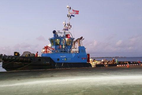 Mo i Rana havn fikk med seg reserverdeler verdt en million kroner ved kjøp av taubåten TB Edison i Karibia.