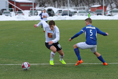Alexander Iversen og Rana FK slo ut Mosjøen i 1. kvalifiseringsrunde. Rørvik er motstander i 2. kvalifiseringsrunde.
