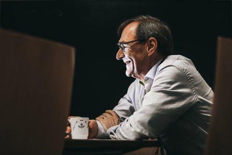 Helse Nord-direktør Lars Vorland har fredag 10 januar 2020 sin siste arbeidsdag.Foto:Tom Melby.  Der har han sittet i topplederstillingen siden 2004.