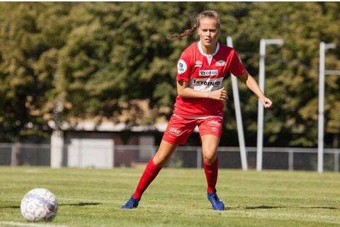 IIngrid Altermark har spilt i toppserien og har vært med på cupfinale som fotballspiller. Men nå er hun lei opplegget og tar det som i beste fall er en lang pause. Her i aksjon for Sandviken.