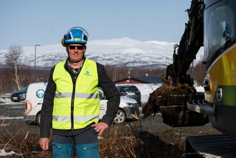 Björn Halling, eier og prosjektleder av Gondolgränd 5, forteller at det er  21 sameier på mellom 68 og 113 kvadratmeter i det nye leilighetsprosjektet BRF Gondolgränd 5.
