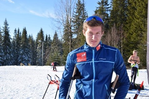 9. plass: Håvard Hovde fra Mjøsski leverte resultatmessig bedre enn fredag på lørdagens 20 kilometer fristil.