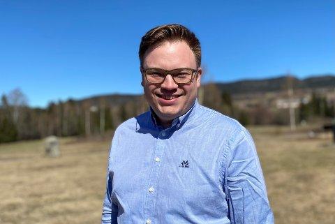 Fylkesordfører Even Aleksander Hagen.