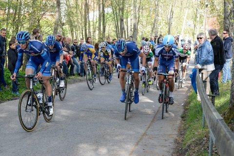 SYKKELFEST: I dag er det sykkelfest i Hønefoss. Ringerike Grand Prix arrangeres for 44. gang. (Arkivfoto)