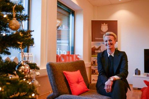 Megler Kristin Gamkinn Søraker har nylig byttet jobb til Norhus. – Jeg gleder meg til å ta fatt på nye arbeidsoppgaver og samtidig holde vedlike det gode kundeforholdet med lokalbefolkningen.