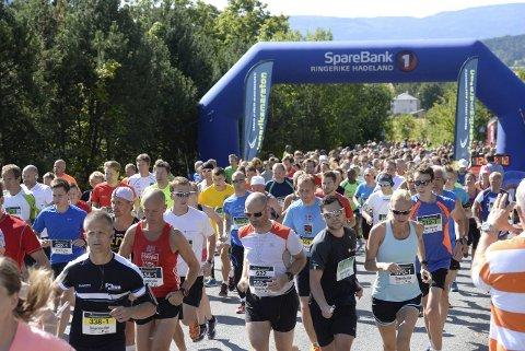 Toyota er inne som ny sponsor for Ringeriksmaraton. Årets løp går 13. august.