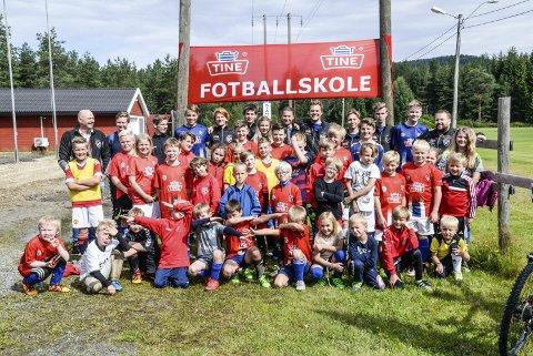 Ådal IL har arrangert fotballskole på Hallingby seks år på rad. Dette kan ha vært den siste.
