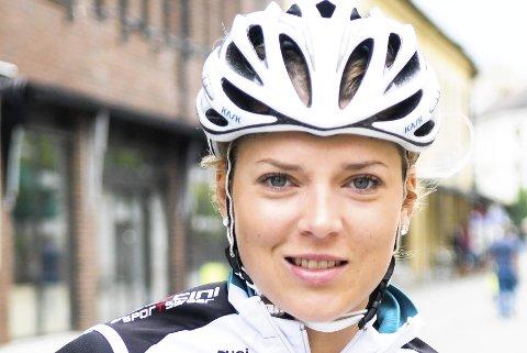KLAR FOR VM: Thea Thorsen er tatt ut til sykkel-VM i Bergen i september.