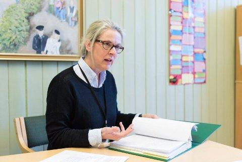 LANG SKOLELEDER-ERFARING: Siri Strømmen har tidligere vært rektor ved Vang skole. Nå har hun fått ny skoleleder-stilling.
