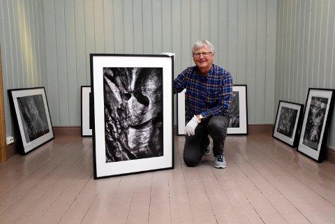 """Fotograf Erik Roland med bildet """"Bergskalle"""". Bildet er tatt i Hvar i Kroatia."""