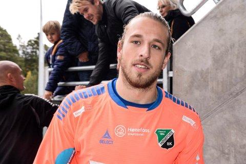 FRISTET AV ODD: Alexander Pedersen har fått anledning til å vise seg fram for eliteserieklubben Odd denne uken. En overgang ville vært en drøm sier spilleren.