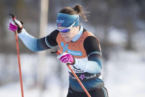 Karrierebeste: Ingeborg Dahl gjorde karrierebeste på sprinten på Beitostølen i helgen. Til helgen går hun prologen i Visma Ski Classic, langløpsverdenscupen, i Pontresina.Foto: Terje Pedersen