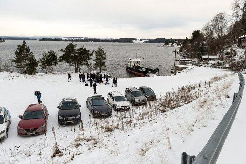 I VINTER: AUF kom i vinter med forslaget om å legge minnestedet til  området ved Utøya-kaia.