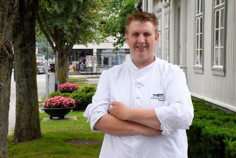 Kjøkkensjef på Brasserie Fengselet, Odd Ivar Haglund, skal delta i finalen i NM i kokkekunst.