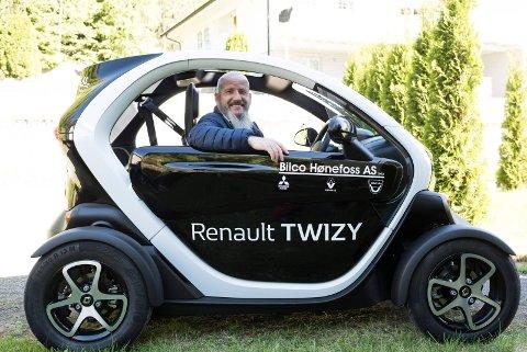 Renault Twizy er en morsom og svært annerledes elbil.
