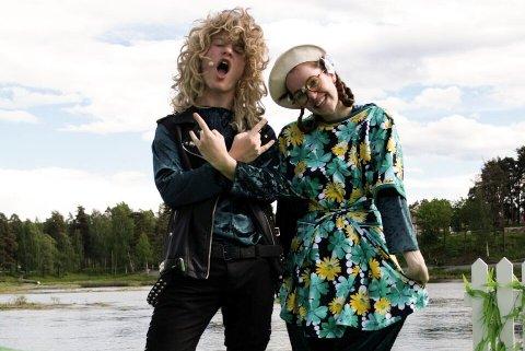 Thomas Kvamme Urnes og Elisabeth Østvang Gundersen.