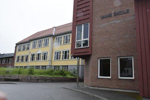 Historisk: Vang skole skriver historie med sitt 100-års jubileum i 2017.