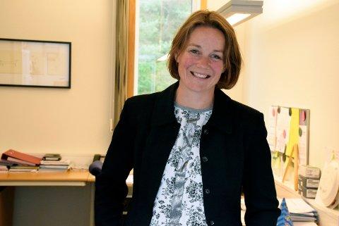 Kapasitet: Rektor ved Ullerål barneskole, Anne Cathrine Fjellvang, sier at Ullerål skole kan bli så full at det kan bli vanskelig å ta imot nye elever på enkelte trinn.