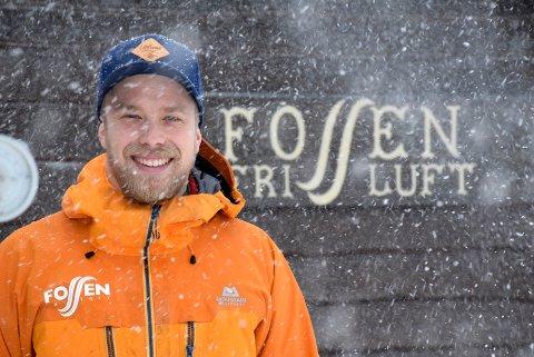 Planer: – Vi har så mange ideer til aktiviteter vi kan gjøre her på Ringkollen, sier daglig leder i Fossen friluft, Espen Sparstad. Til daglig står han for driften på Ringkollstua.