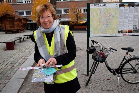 MØTER FOLKET: Byplansjef Inger Kammerud er klar til å snakke med deg på biblioteket tirsdag.