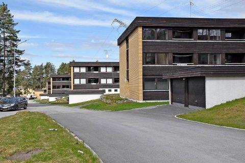 SOLGT: Arnegårdsveien 21, 23, 27 og 29 er solgt for 45,3 millioner kroner.