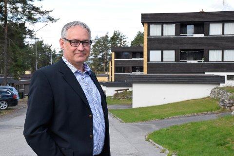 STYRELEDER: Gjermund Riise Brekke er styreleder i Ringerike Boligstiftelse.