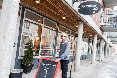 Iraj Ramezani har nå åpnet Royal restaurant i Stabells gate.