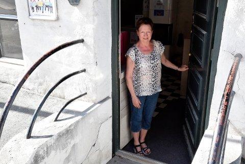 SISTE DAG: Annlaug Nielsen hadde sin siste dag på jobb for Fontenehuset fredag.