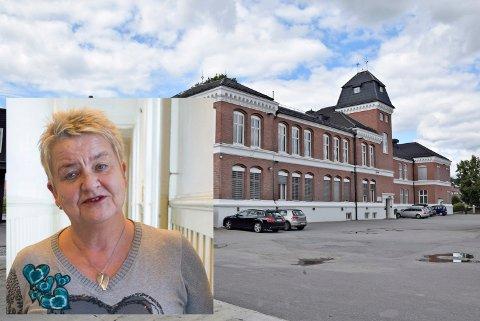 FÅR BYGGE UT: Rektor Kaia Erlandsen fikk det vedtaket hun ønsket seg i Hovedutvalget for utdanning. Ringerike videregående skole blir bygget ut.