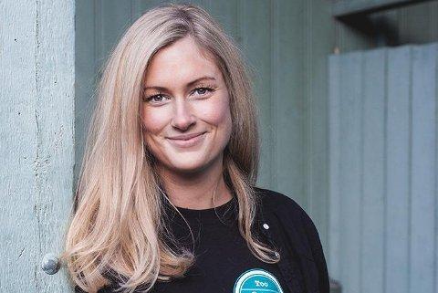 MATREDDER: Sophie Wiik, matredder og daglig leder i Too Good To Go, synes det er imponerende og gøy å se hvor mye mat som reddes. Foto: Too Good To Go