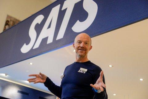 TAR SATS: Stig Andy Kvalheim vil ta Sats Hønefoss til nye høyder, og få alle ringerikinger opp av sofaen.