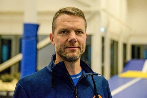 STOPPER ALL AKTIVITET: Turnforeningens styreleder, Thomas Rustad, forteller at det ikke blir mer turn i regi av klubben i 2020.