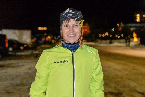 SPREK: Hilde Johansen blir aldri lei av å løpe. Nå leder hun flere grupper, og motiveres av å hjelpe andre til å nå sine mål.