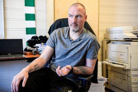 FERDIG I HBK: Frode Lafton har den siste tiden jobbet med HBK-akademiet, men er ferdig i klubben fra 1. januar.