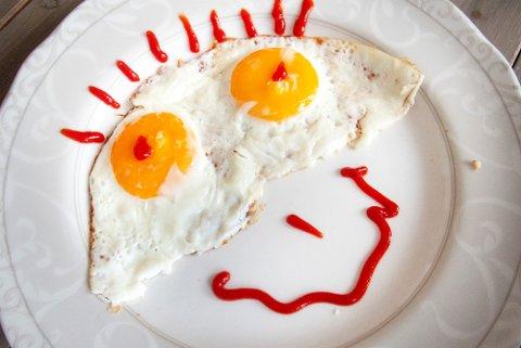 EGG: Nordmenn liker egg, det er helt sikkert.  Foto: Gorm Kallestad / NTB scanpix