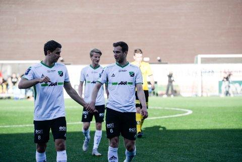 HBK-Lillestrøm 2: Marko Jankovic og Thomas Nygaard.