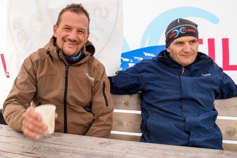 SPREKE BRØDRE: Bjørn og Thomas Kjelland skal dele sine erfaringer for å hjelpe 23 personer med rusproblemer gjennom en knalltøff treningsperiode.