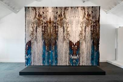 Tekstilkunst: Kari Dyrdals arbeid.