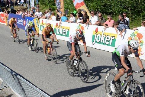 TAR ANSVAR: Ringerike Sykkelklubb overtar som arrangør av NM fellesstart i august. Her fra NM 2019.